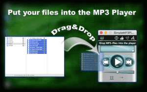 Put your files into the MP3 Player